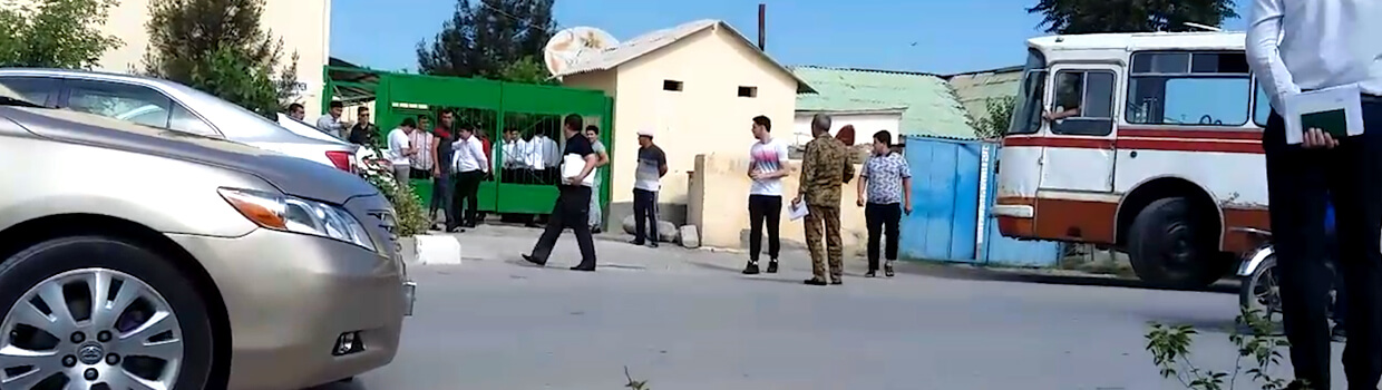 Some Turkmen School Leavers Drafted Before Completing Exams