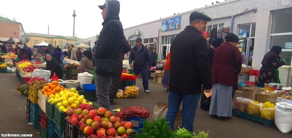 Bazaar in Dashoguz, Turkmenistan