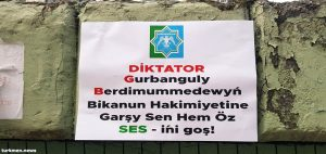 Handbills Criticizing Turkmen President Appear in Istanbul