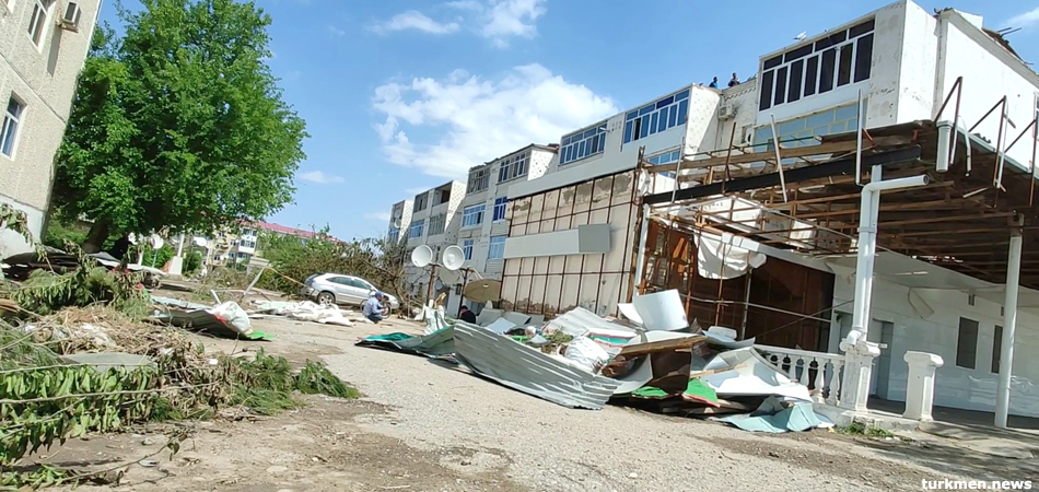 Storm Battered Turkmenabat Left to Its Fate