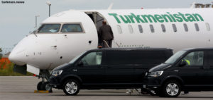Turkmen VIP Plane to Make Two Flights to Germany
