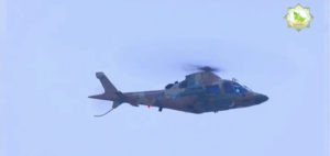 Three Die in Military Helicopter Crash in Turkmenistan
