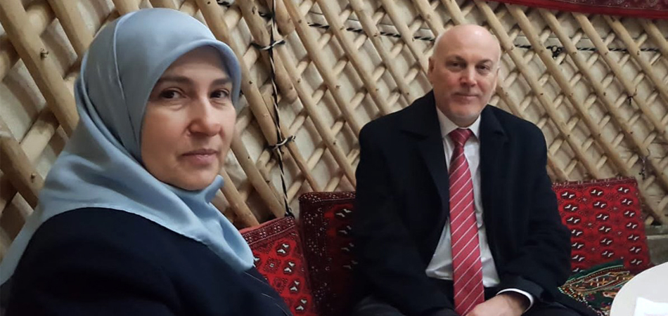 """He said his lungs were burning."" Turkish diplomat's widow talks about her husband's death from COVID-19 in Turkmenistan"