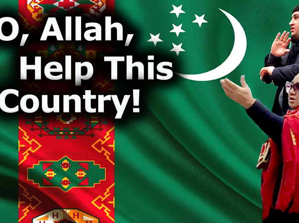 Turkmenistan: O, Allah, Help This Country! Turkmen.news releases its end-of-2020 film